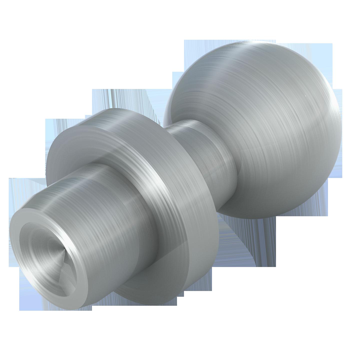 mbo Oßwald dreht Nietzapfen nach DIN 71803 Form B. Stahl oder Edelstahl 1.4305 und 1.4404, A4-Qualität stehen als Werkstoff zur Wahl.