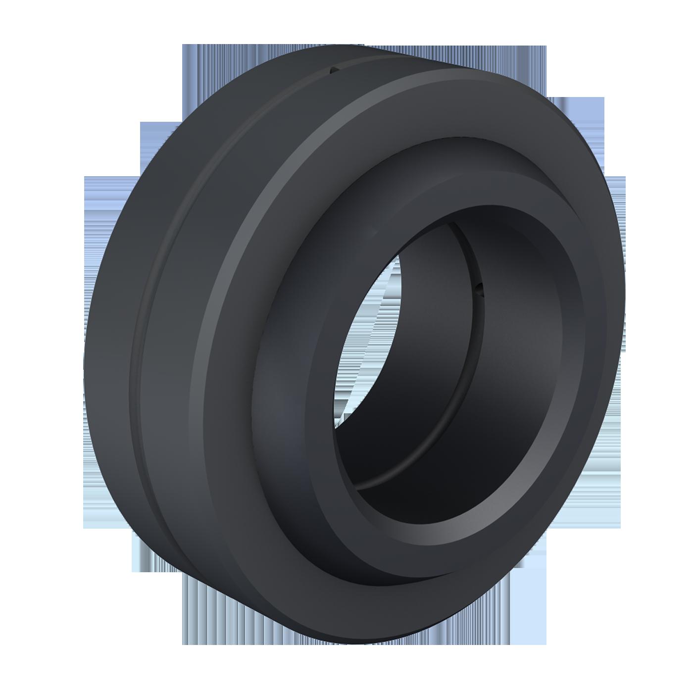 Pivoting bearings DIN ISO 12240-1 (DIN 648) E series steel/steel version