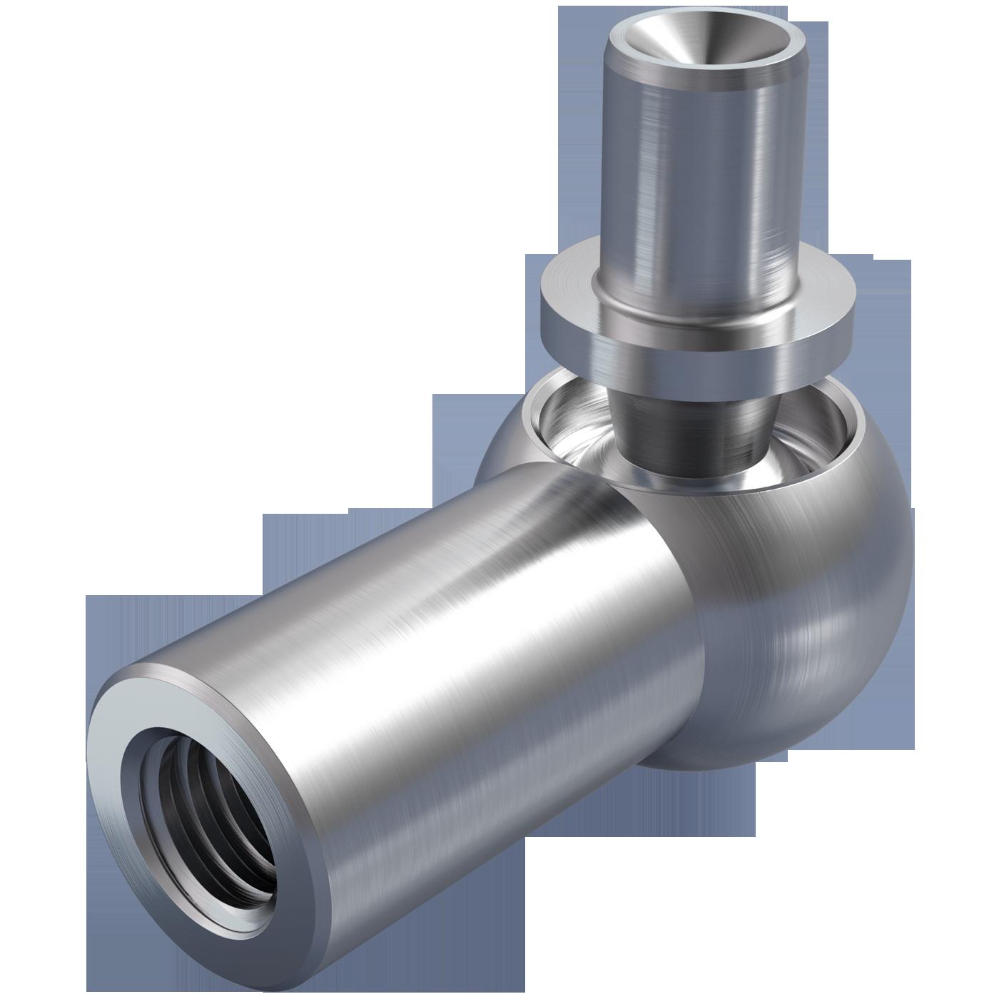 mbo Oßwald ist Winkelgelenk Hersteller, Winkelgelenke Hersteller, DIN 71802 Form B, mit Nietzapfen. Folgende Werkstoffe stehen zur Auswahl: Stahl oder Edelstahl 1.4305, bzw. Edelstahl 1.4404, A4 Qualität.