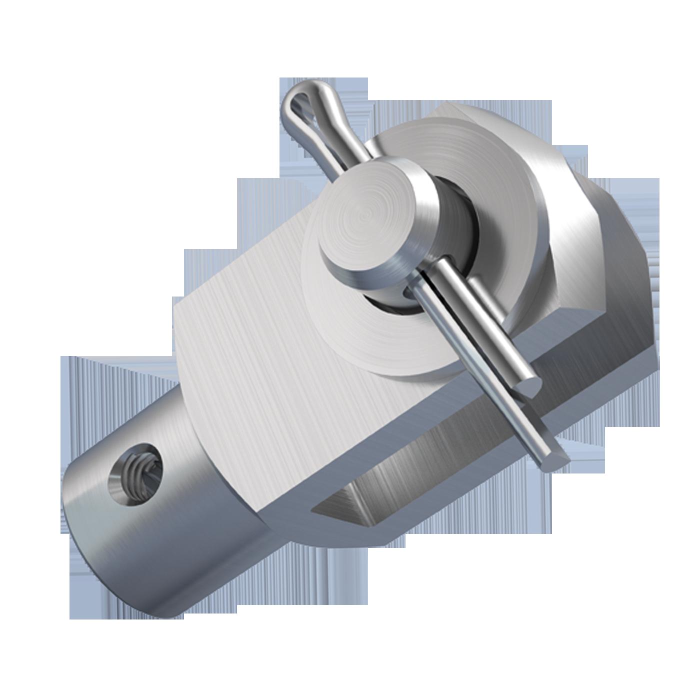 mbo Oßwald ist Hersteller von Gabelgelenk mit Zusatzgewinde, Gabelgelenken mit Zusatzgewinde in Ausführung als A-Gelenk, A-Gelenken, für Verdrehsicherung, ähnlich DIN 71751, montiert, bestehend aus Gabelkopf mit Zusatzgewinde, Gabelköpfe mit Zusatzgewinde, Gabelkoepfe mit Zusatzgewinde, ähnlich DIN 71752, DIN ISO 8140, CETOP RP102P und Bolzen mit Splintloch, Scheiben DIN 125 und Splinte DIN 94. Wir fertigen diese aus Stahl 1.0718 und Edelstahl 1.4305 und A4-Qualität 1.4404.