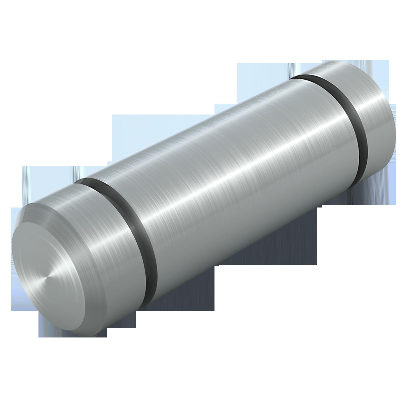 mbo Oßwald ist Produzent von Bolzen mit Einstich ohne Kopf, aus Werkstoff Automatenstahl 1.0718 oder Edelstahl 1.4305 bzw. Edelstahl 1.4404, A4 Qualität. Diese Bolzen sind ähnlich DIN 1433, DIN 1443 bzw. DIN EN 22340 und ISO 2340.