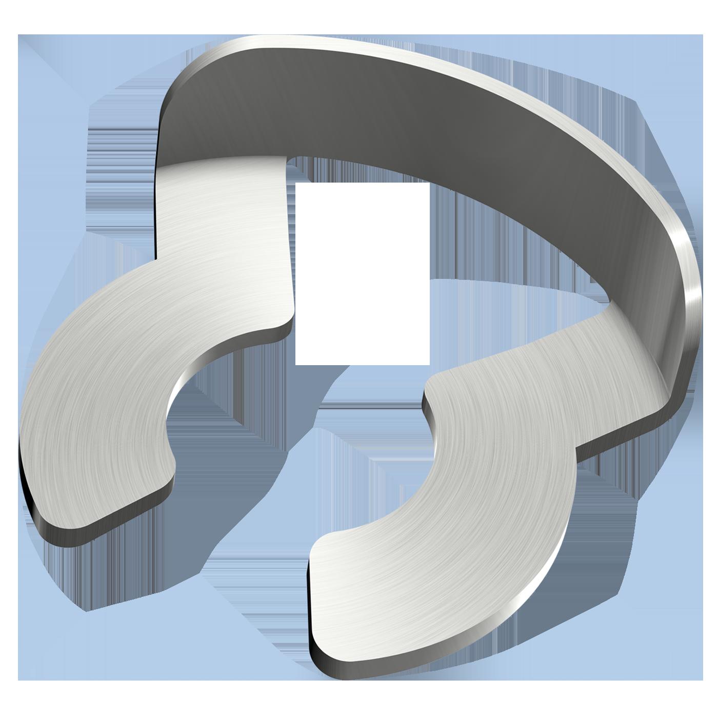 mbo Oßwald ist Anbieter von KL-Sicherungen, KL-Sicherung, für Bolzen und Wellen mit Nut, bzw. Einstich. Geliefert werden diese in Federbandstahl.