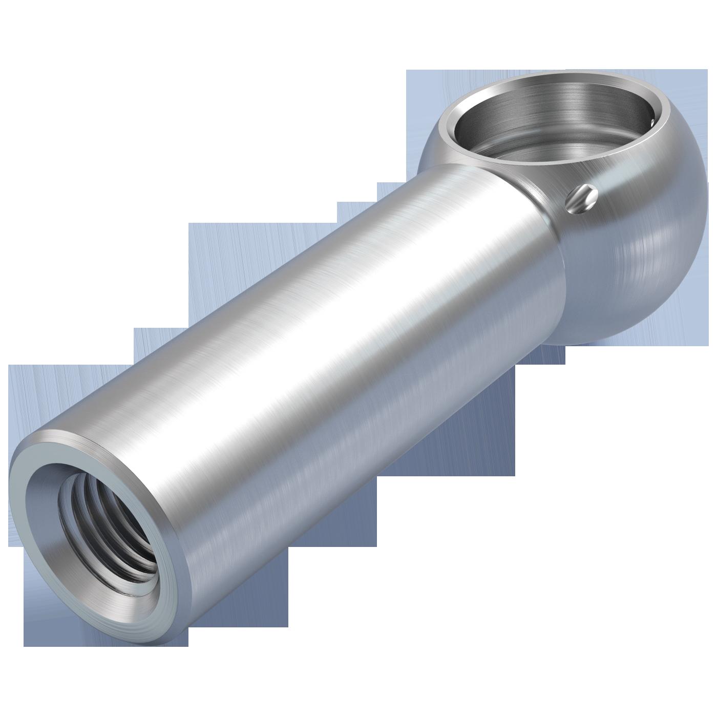 mbo Oßwald ist Produzent von Kugelpfannen, Kugelpfanne nach DIN 71805 Form B lange Ausführung. Verarbeitet werden Stahl und Edelstahl 1.4305 bzw. A4 Qualität 1.4404.
