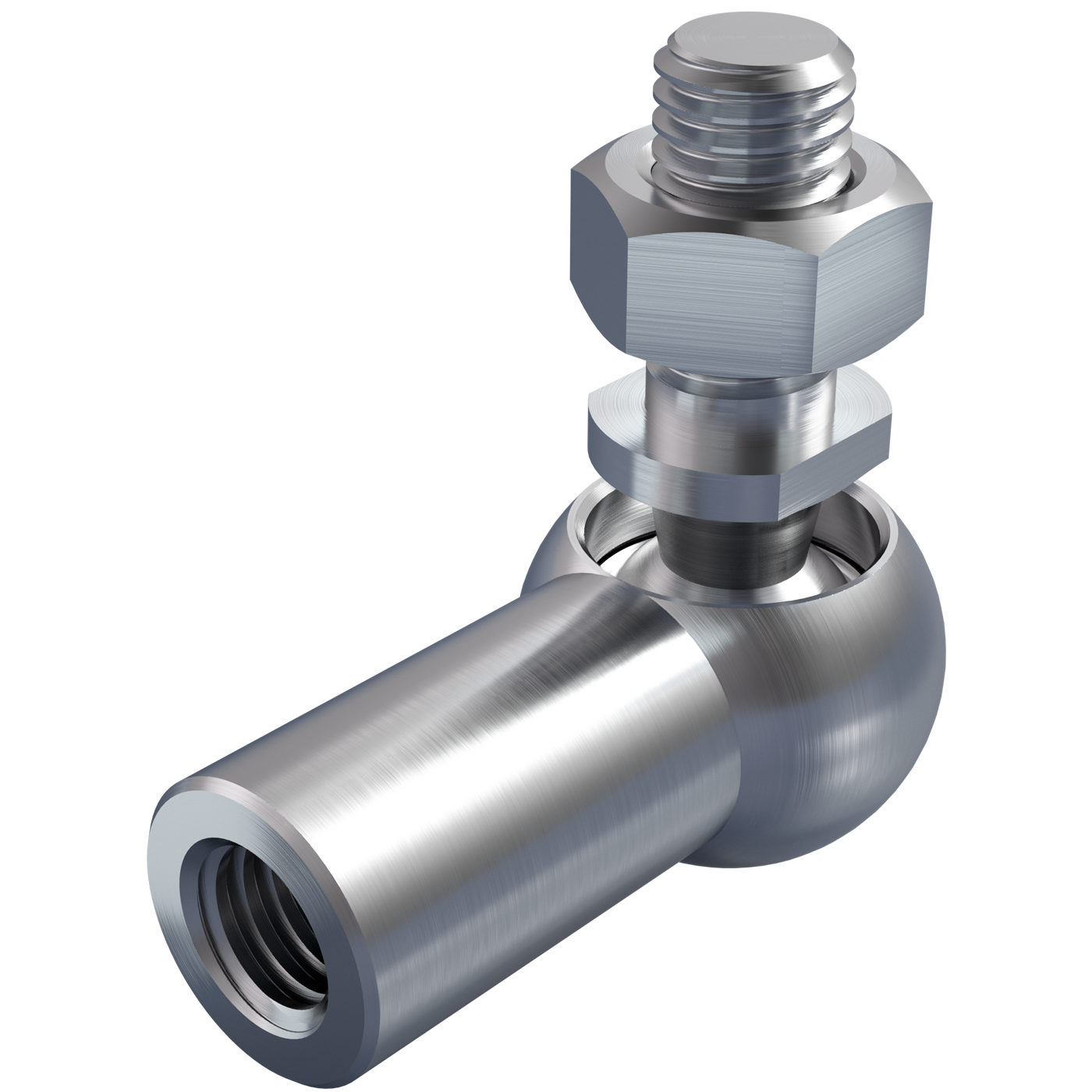 Angle joints DIN 71802 form C with threaded stud