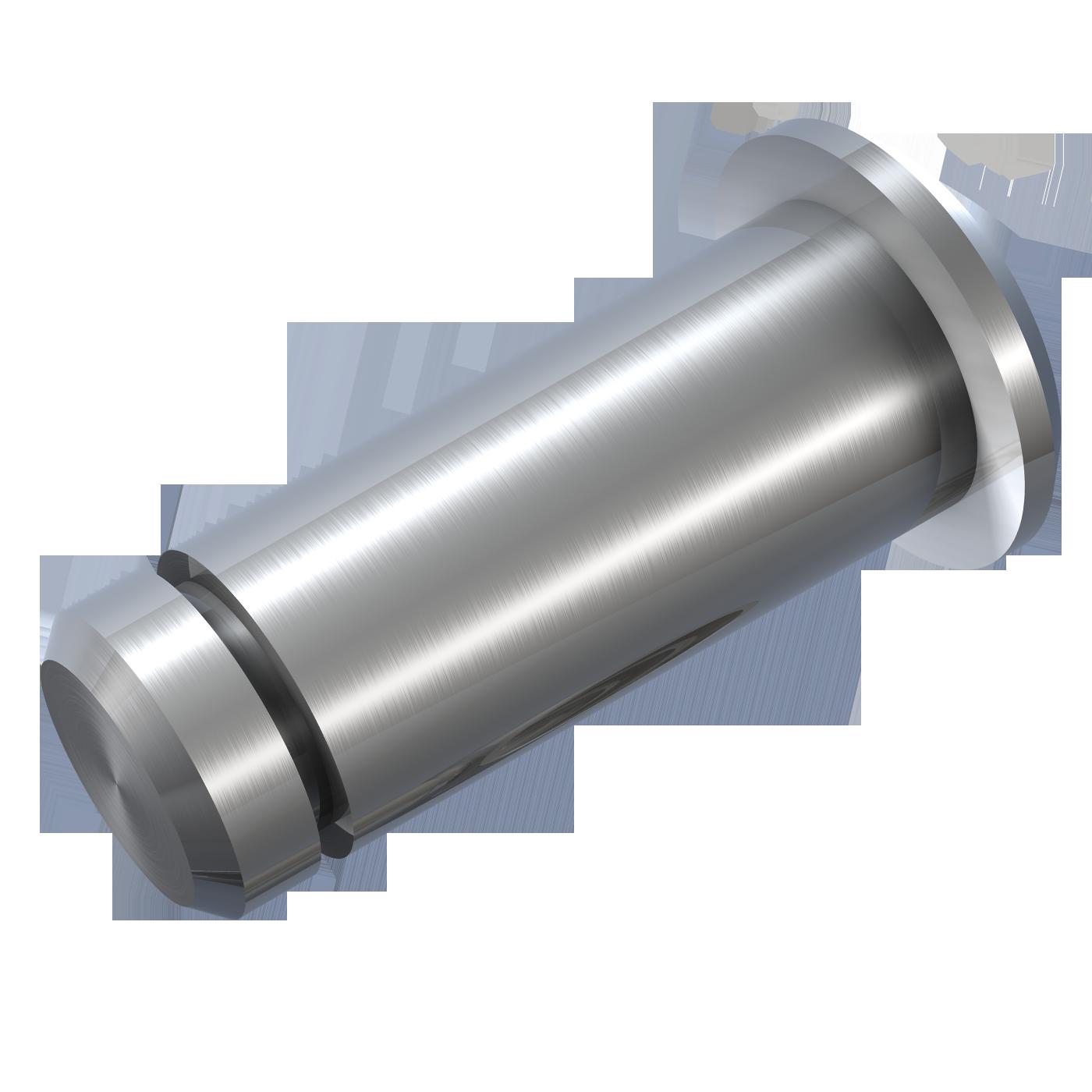 mbo Oßwald ist Produzent von Bolzen mit Einstich und Kopf, aus Werkstoff Automatenstahl 1.0718 oder Edelstahl 1.4305 bzw. Edelstahl 1.4404, A4 Qualität. Diese Bolzen sind ähnlich DIN 1434.