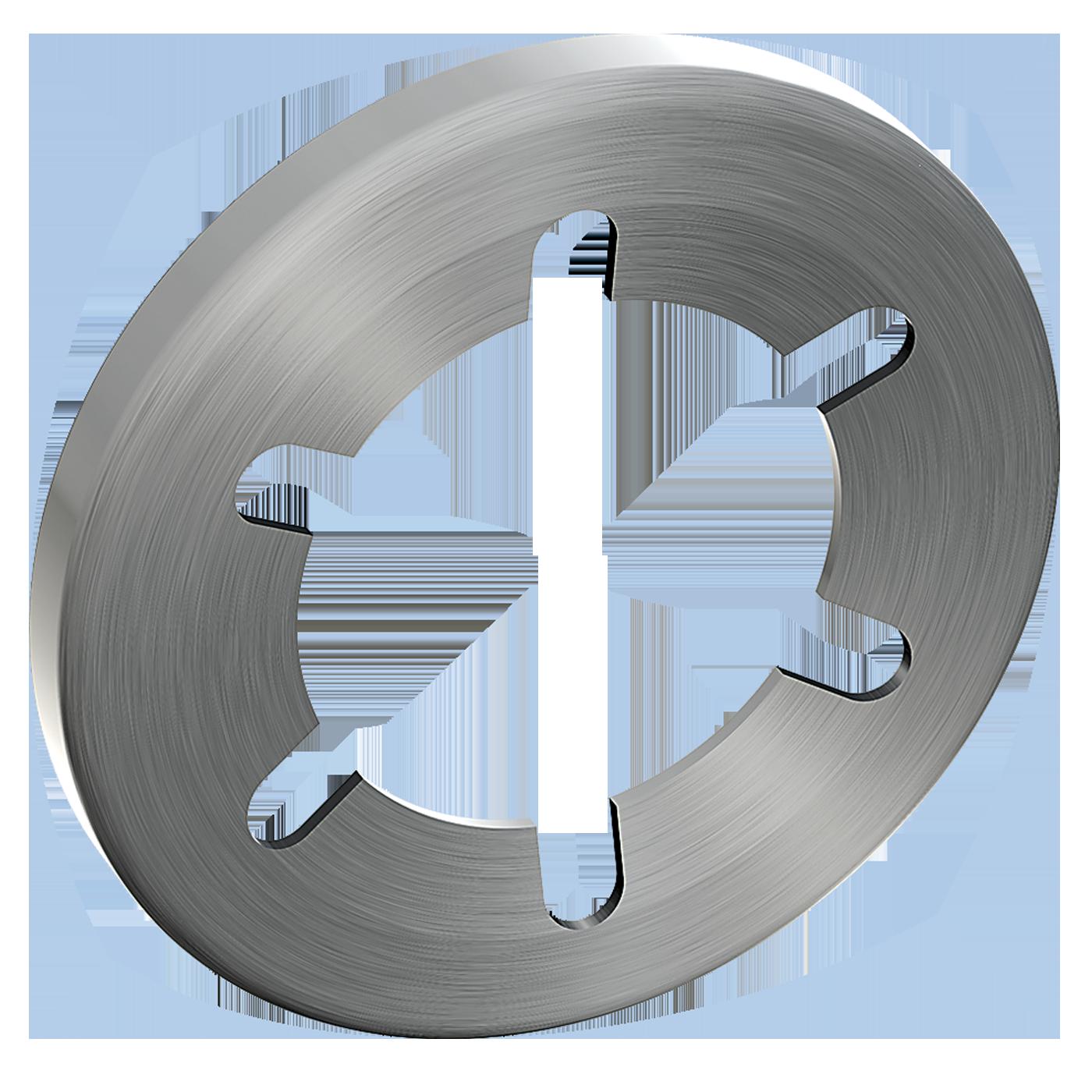 mbo Oßwald liefert Federscheiben, die Federscheibe dient als Sicherung für Bolzen und Wellen ohne Nut. Werkstoff ist Federstahl bzw. Edelstahl.