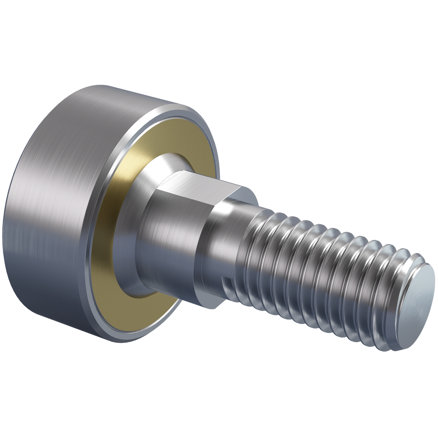 Pivoting bearings DIN ISO 12240-1 (DIN 648) K series maintenance-free version stainless steel with threaded bolt