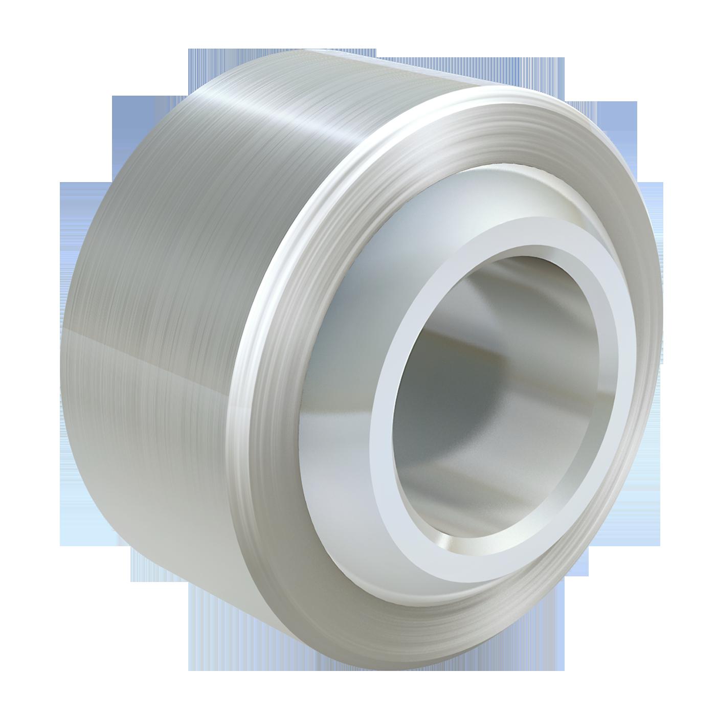 Gelenklager, DIN 12240-1 (DIN 648), Maßreihe K, hat mbo Oßwald ergänzend im Standard-Gelenkkopf Programm. Diese Ausführung ist in Edelstahl, wartungsfrei und wird ohne Außenring geliefert.