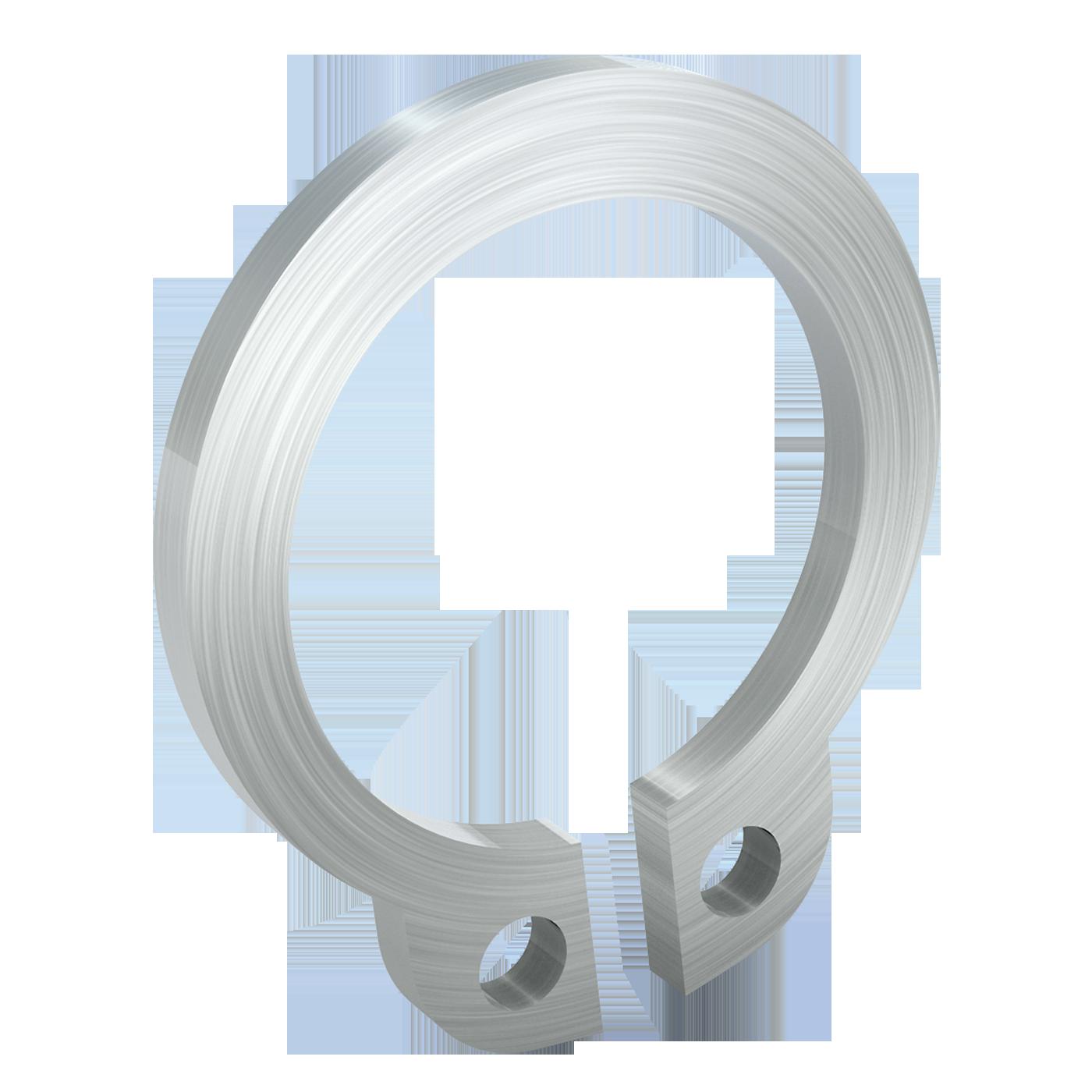 mbo Oßwald hat Sicherungsringe DIN 471 in seinem Sortiment. Dieser Sicherungsring ist für Bolzen und Wellen mit Einstich, bzw. Nut. Angeboten werden diese aus Federstahl C67S oder C75S nach DIN EN 101322-4 oder alternativ in Edelstahl.