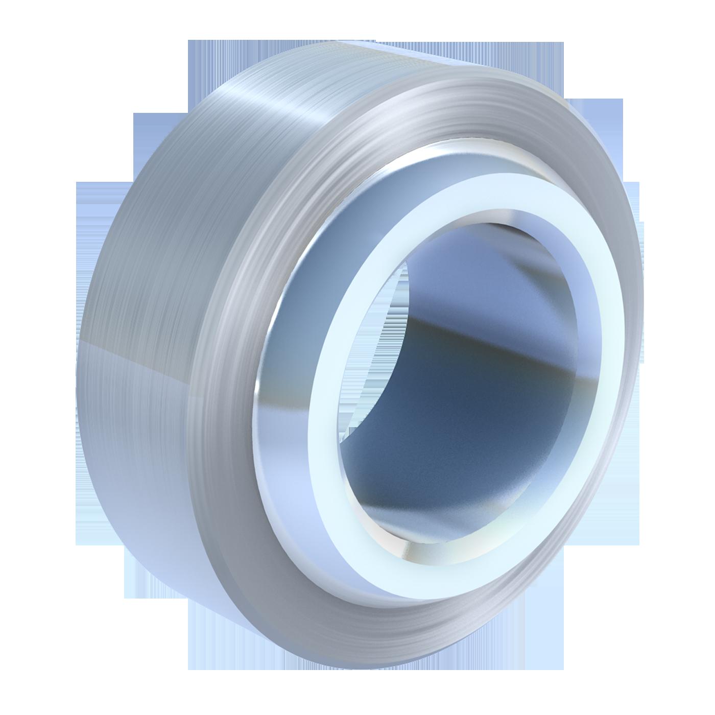 Wartungsfreie Gelenklager der schmalen Maßreihe E von mbo Oßwald, sind ebenfalls nach DIN ISO 12240-1 (DIN 648). Diese Gelenklager gibt es in Edelstahl als rostgeschütze Ausführung.