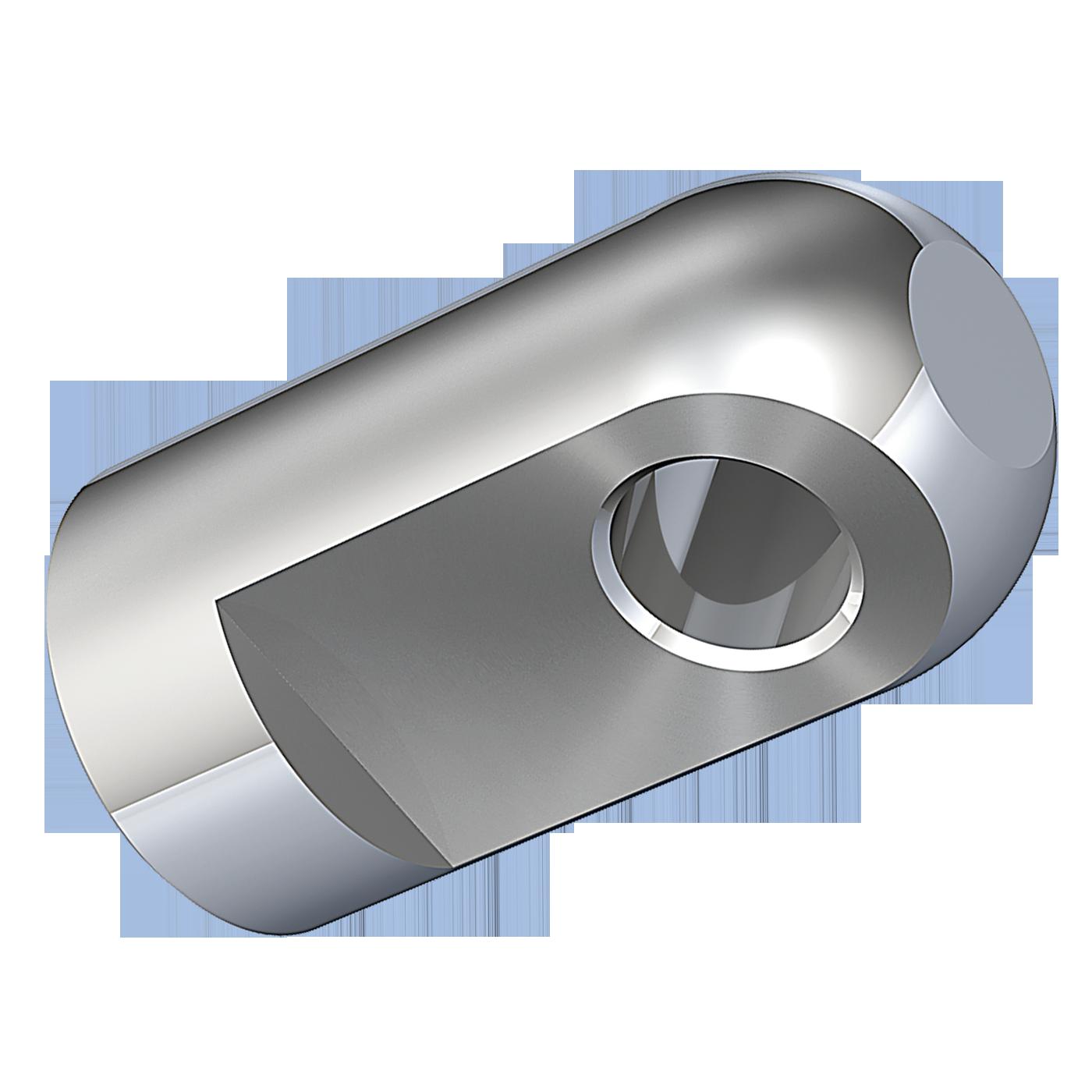 Gelenkauge oder Gelenkaugen mit Innengewinde vom Hersteller mbo Oßwald, gibt es in Automatenstahl 1.0718 und Edelstahl 1.4305. Sie dienen in erster Linie als Kolbenstangen Anschlußteile für Gasfedern, Gasfeder, Gasdruckfeder, Gasdruckfedern.